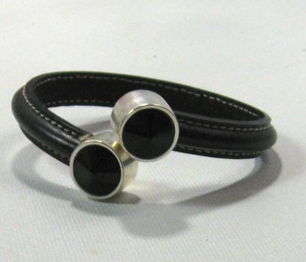 Custom Made Leather Bracelet For Men And Women