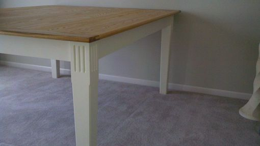 Custom Made Oak Sewing Table
