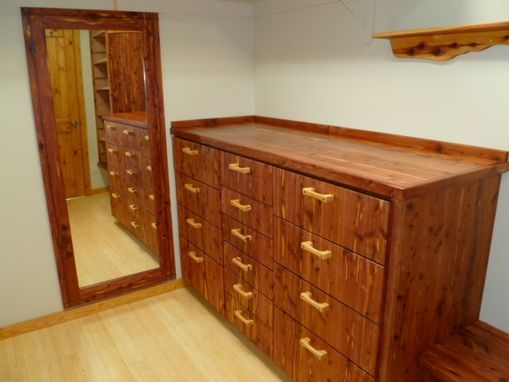 Custom Made Cedar Closet Dresser