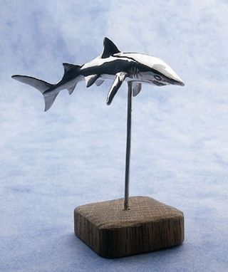 Custom Made Full Figure Shark Sculpture