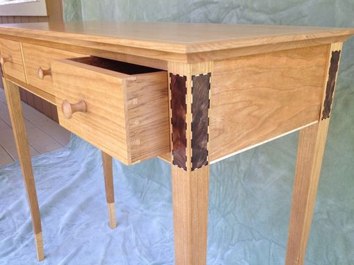 Custom Made Modern-Federal Cherry Hall Table