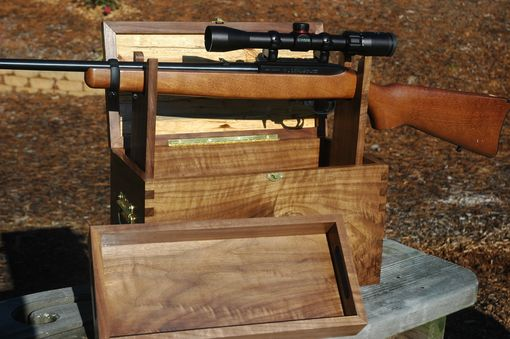Custom Made Rifle/Shotgun Cleaning Box