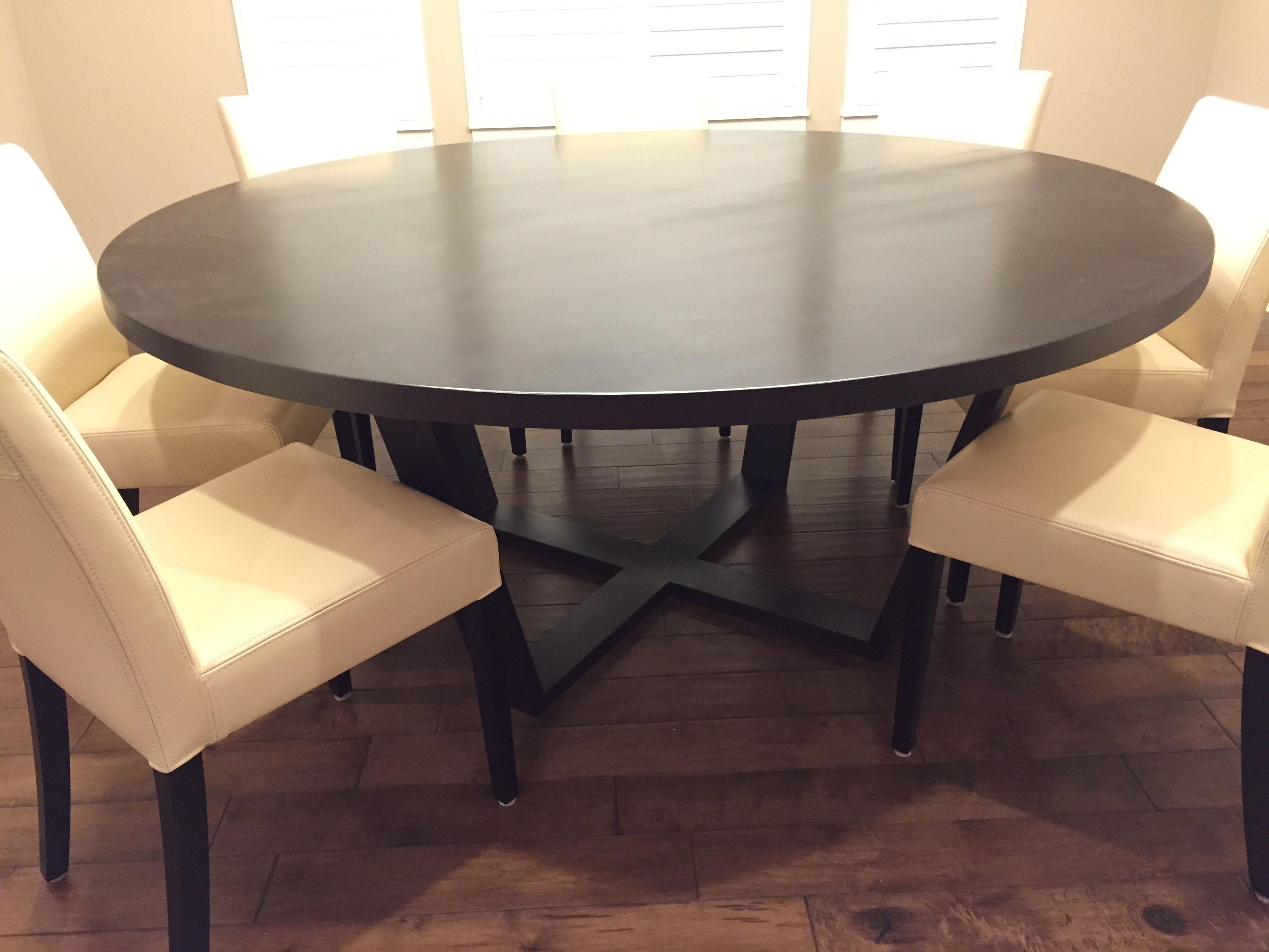 Handmade Solid Maple 72 Round Dining Table By Furniture