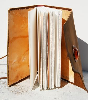 Custom Made Custom Handmade Leather Bound Journal