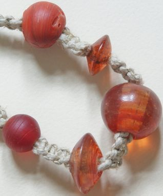 Custom Made Orange You Glad Necklace