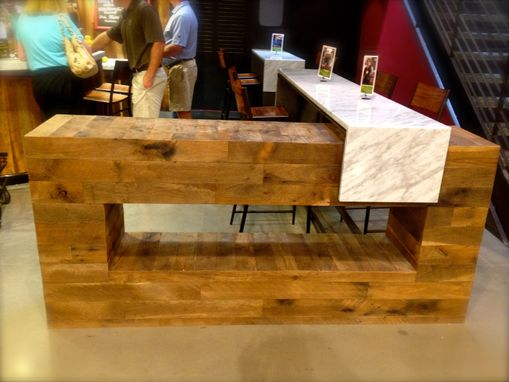 Custom Wine Bar Whole Foods Store By 2nd Story Wood Co