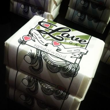 Custom Made Handmade Private Label Soap With Custom Label