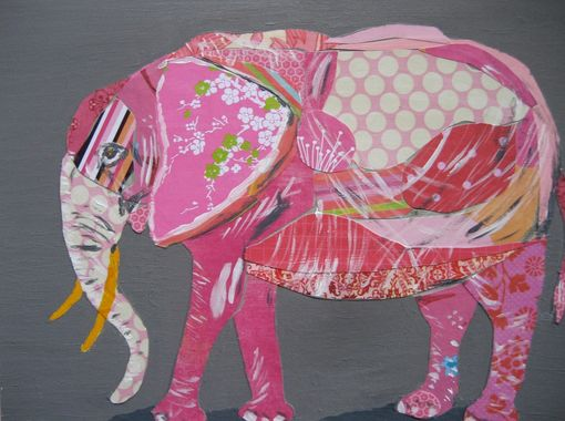 Custom Made Pink Elephant Limited Edition Print