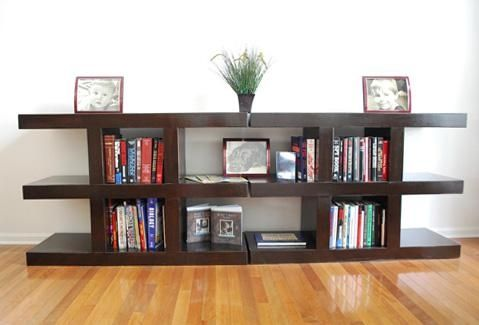 Custom Made Book Shelves