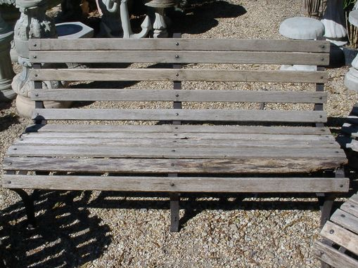 Custom Made Sold 3 Piece Patio Set 5' Bench, 2 19