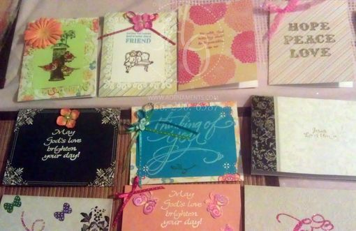 Custom Made Handmade Greeting Cards & Invites
