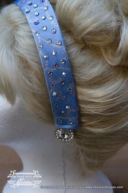 Custom Made Cinderella Princess Headband Screen Quality Custom Couture Withswarovski Crystals