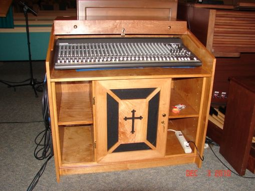 Custom Made Sound  Cabinet