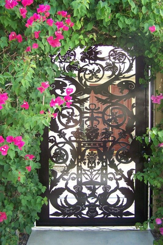 Buy A Hand Crafted Metal Art Gate Italian Entry Pedestrian