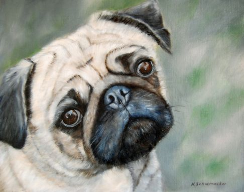Custom Made Animal Oil Paintings