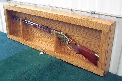 Custom Made Gun Display Case