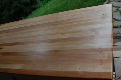 Custom Made Kitchen Island Butcher Block