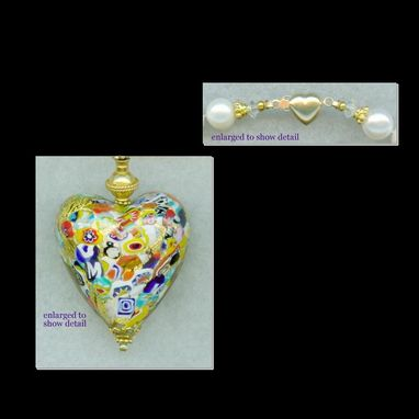 Custom Made Klimt Ii Heart Bridal Necklace