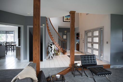 Custom Made Interior Staircase Railing