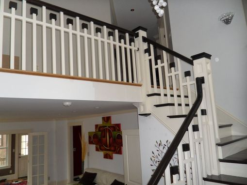 Custom Made Arts & Crafts Style Staircase