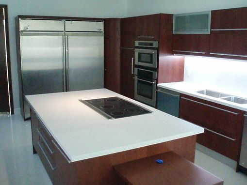 Custom Made Italian Kitchen Cabinetry