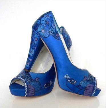 Custom Made Design Your Own Peacock Shoes