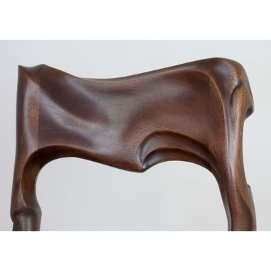 Custom Made Art Nouveau Carved Chair