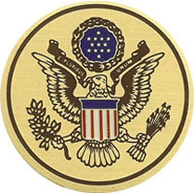 Custom Made Great Seal Color Medallion