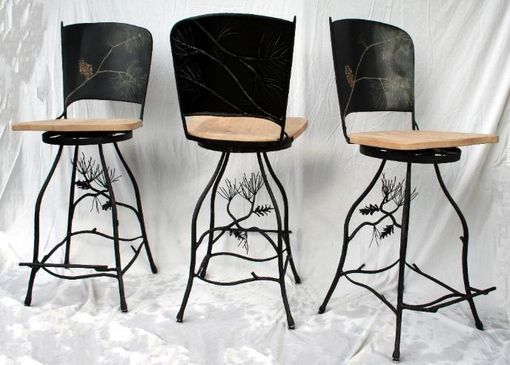 Custom Made Organic Bar Stool