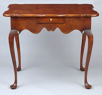Custom Made Queen Anne Dressing Table