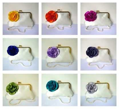 Custom Made Custom Bridesmaid Clutch Purse