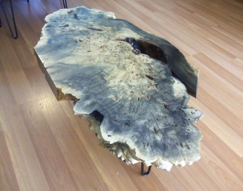 Custom Made Coffee Table - Buckeye Burl