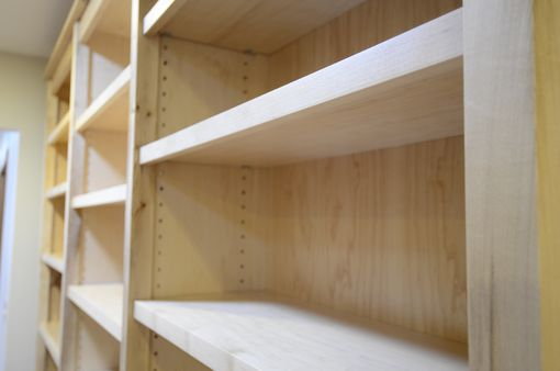 Custom Made Maple Bookcases