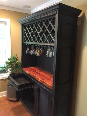 Custom Made Wine Rack / Liquor Cabinet