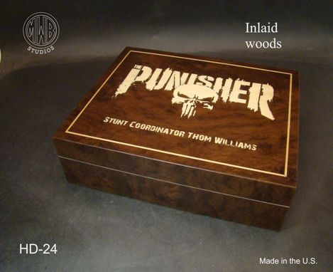 Custom Made Handcrafted Humidor's Made In The U.S.  Hd-24