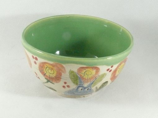 Custom Made Set Of Two: Soup Bowls Cereal Bowls Salad Bowls