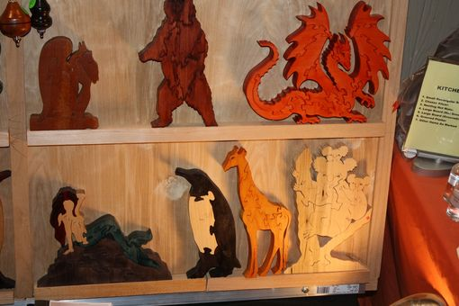Custom Made Wooden Scroll Saw Puzzles
