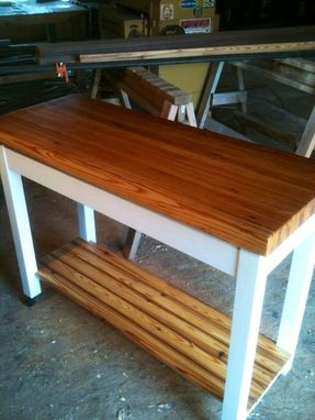 Custom Made Kitchen Utility Island