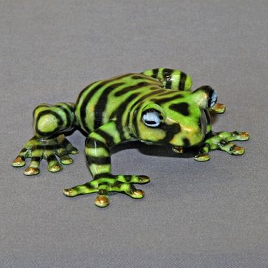 "Custom Made Newly Discovered ""Tiger Frog"" Replica In Bronze Limited Edition Signed Numbered"
