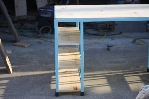 Custom Made Two-Person Desk
