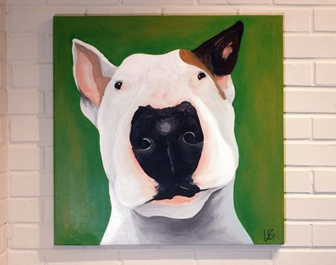 Custom Made Pet Portrait Dog Painting
