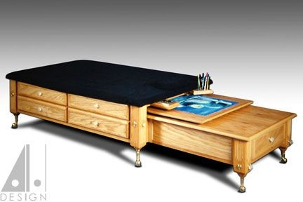 Custom Made Art Bed