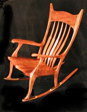 Custom Made Made To Order  ' Duke' Rocking Chair