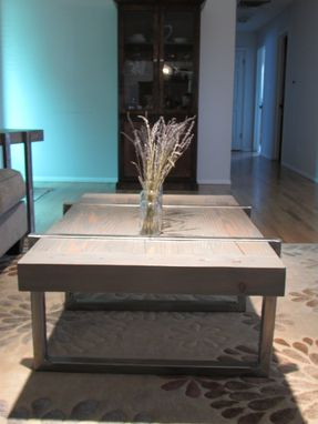 Custom Made Custom Timber And Steel Coffee And End Tables