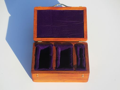 Custom Made Hand Carved Jewelry Boxes With Your Design Made From Exotic Woods