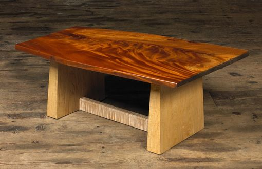 Custom Made Mahogany Coffee Table