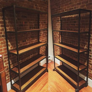 Custom Made Industrial Metal Shelving