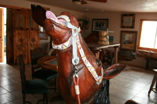 Custom Made Carousel Horse