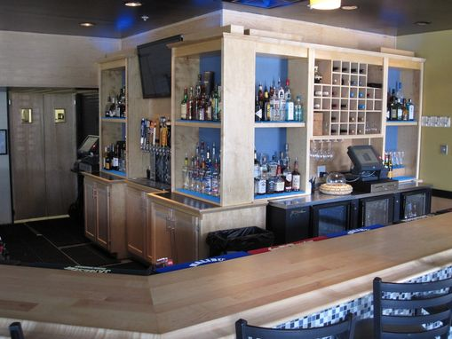 Custom Made Latitudes Cafe - Commercial Bar