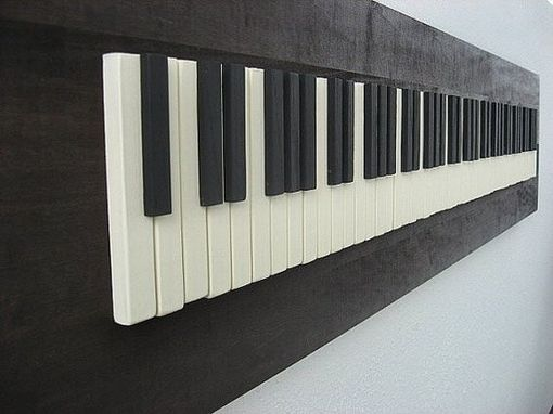 Hand Crafted Repurposed Piano Key Wall Art By Pianobox